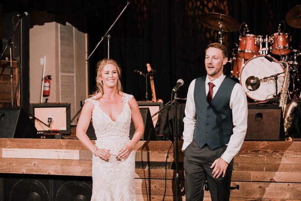 wedding reception at 10 mile station in breckenridge