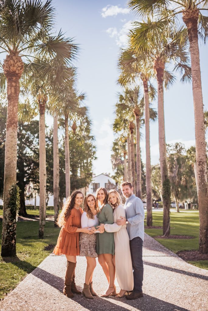 photo at avenue of the palms on jekyll island georgia