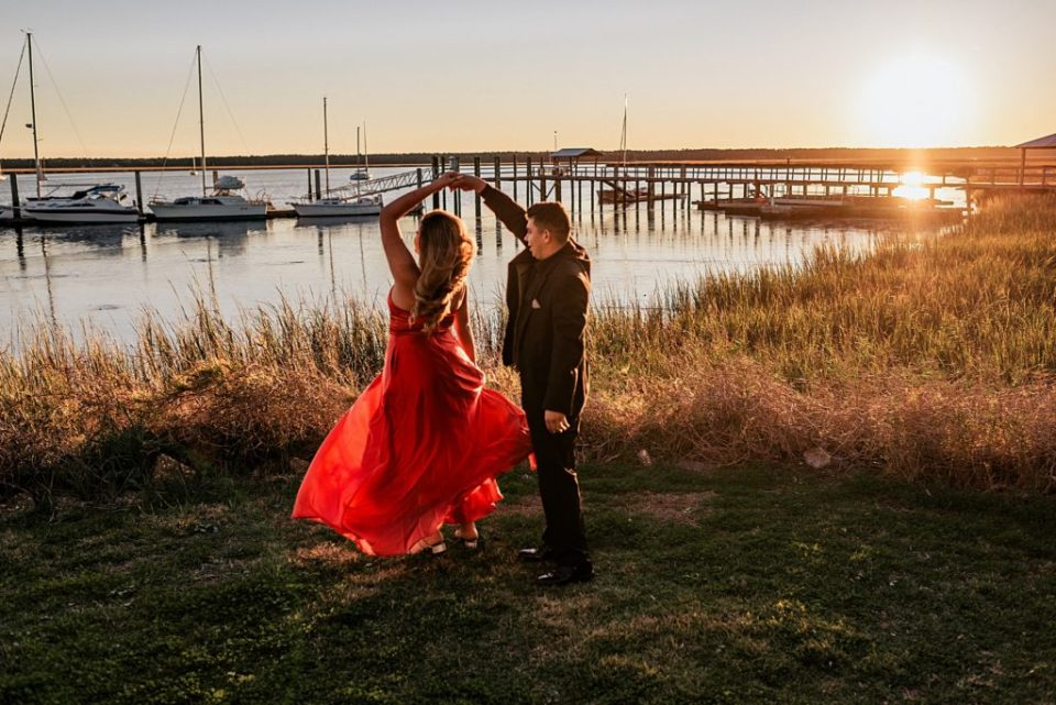engagement photographer in st marys georgia