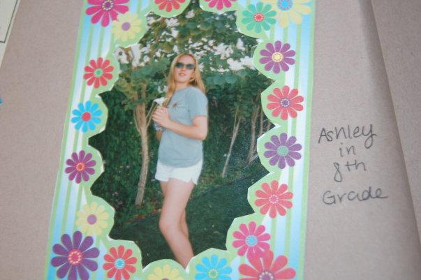 ashley in 8th grade