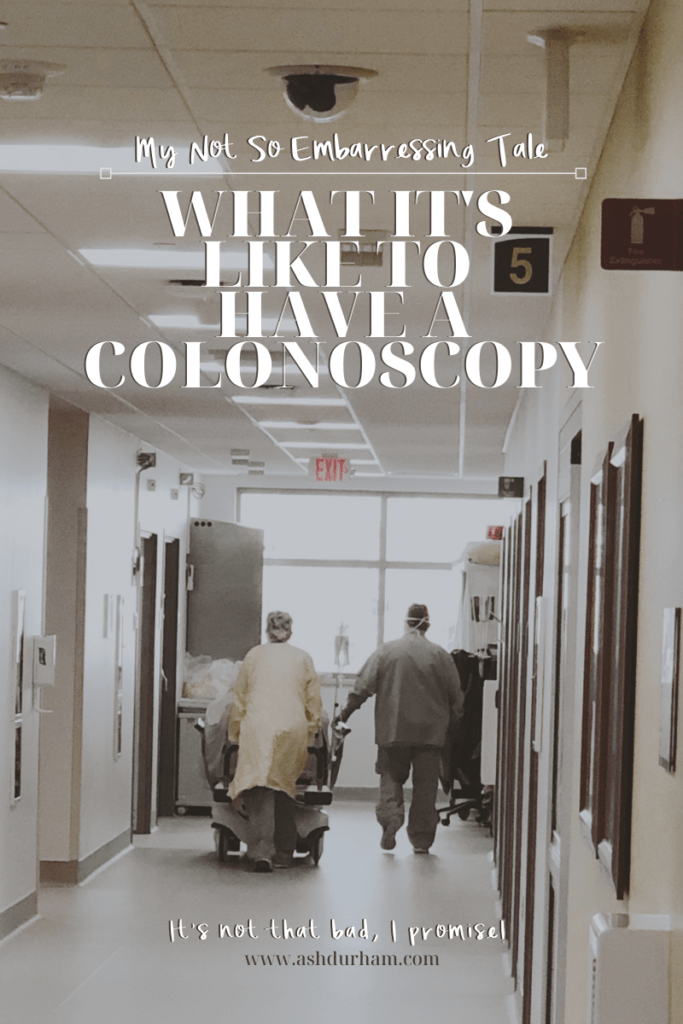 what it's like to have a colonscopy