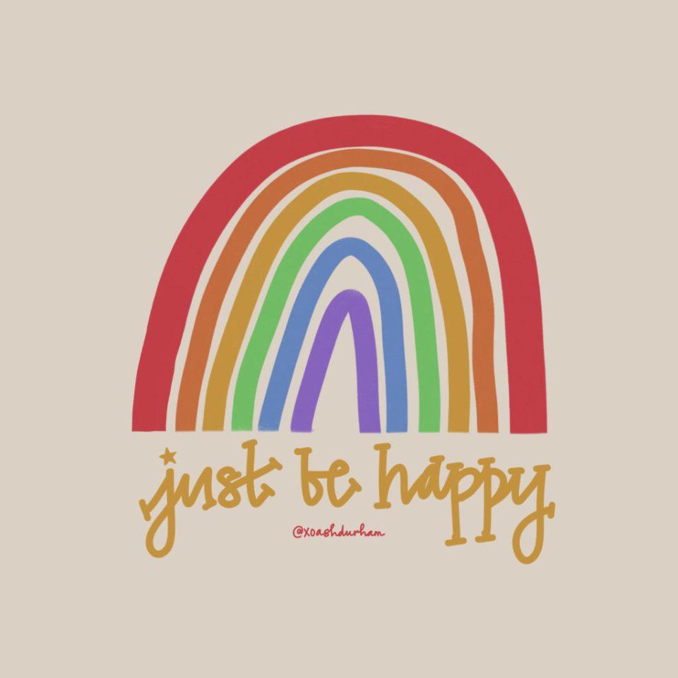 my secret to happiness digital word art