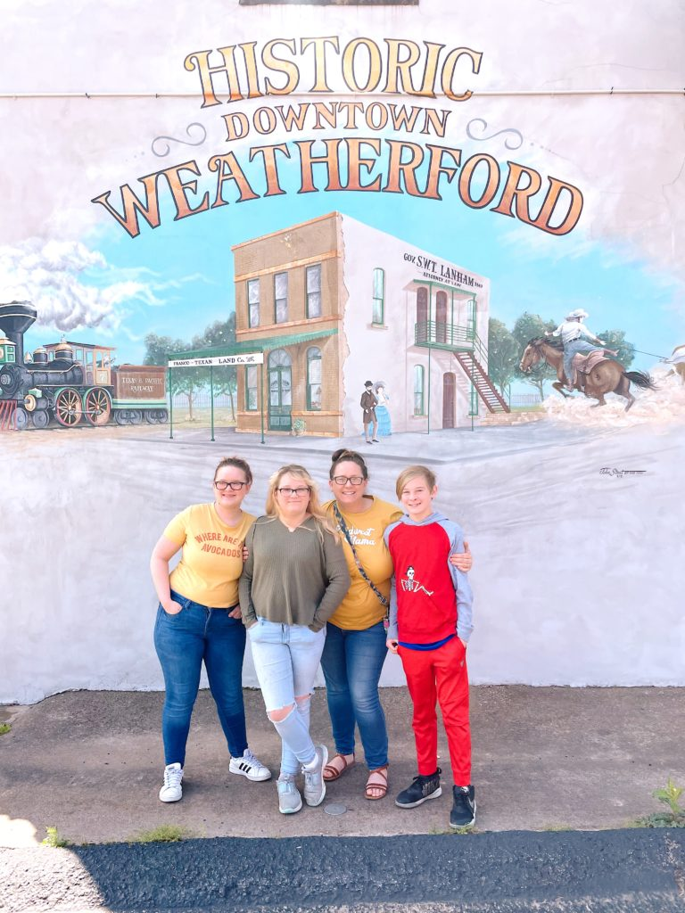 weatherford texas mural
