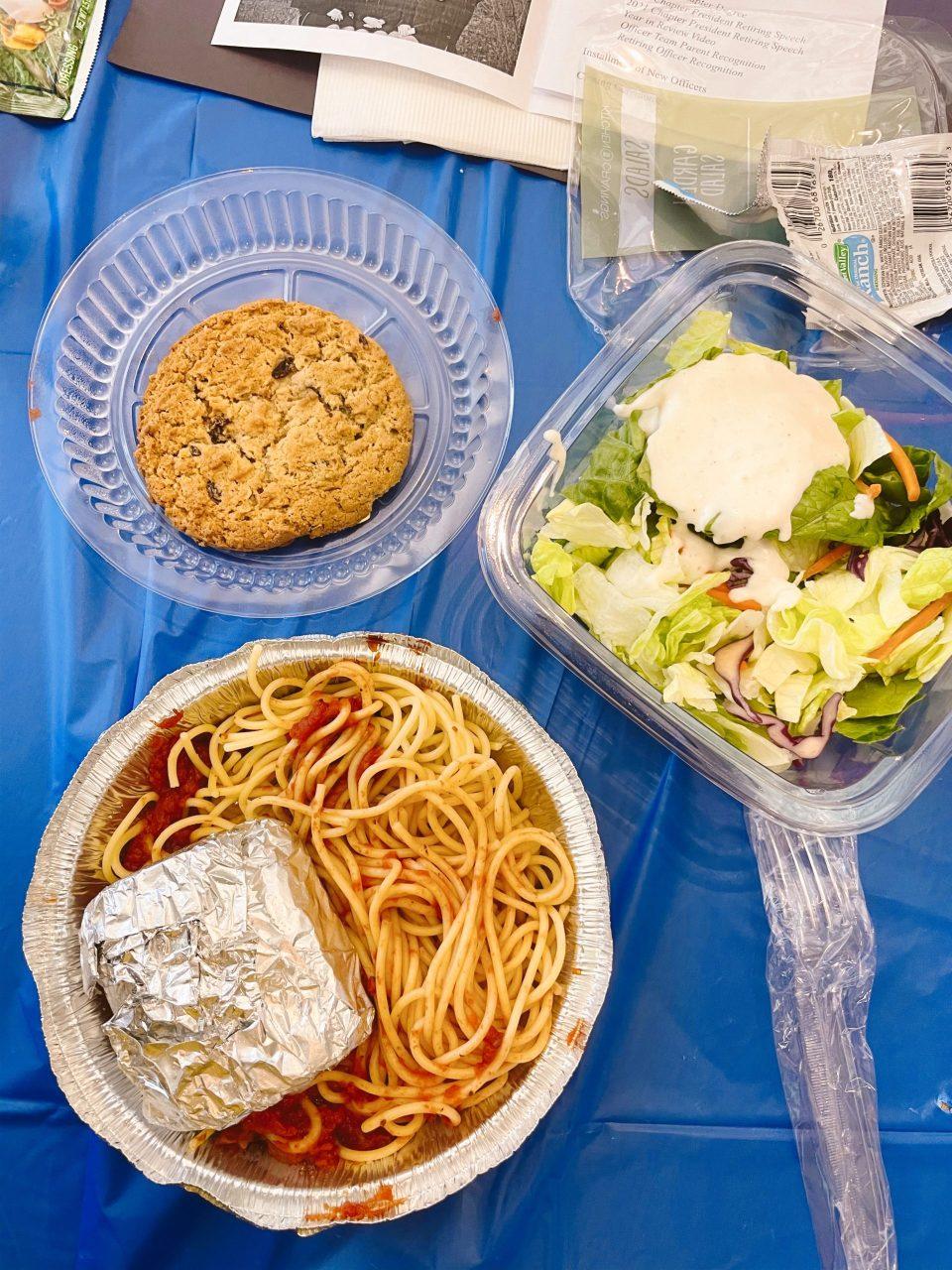 spaghetti dinner during covid 19