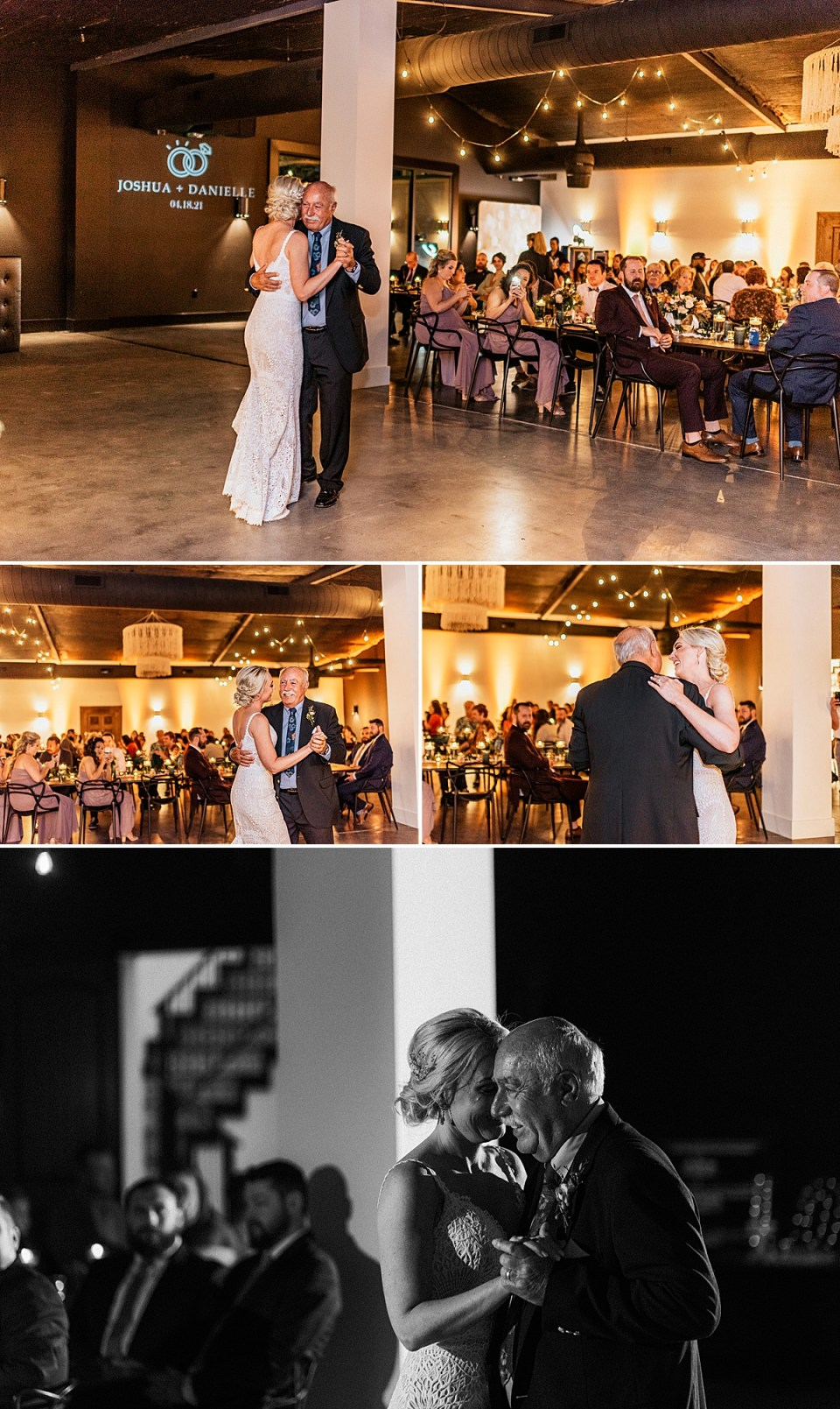 father daughter dance at lazy s hacienda