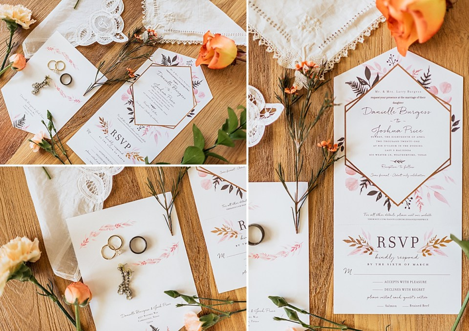 spring wedding invitations from minted