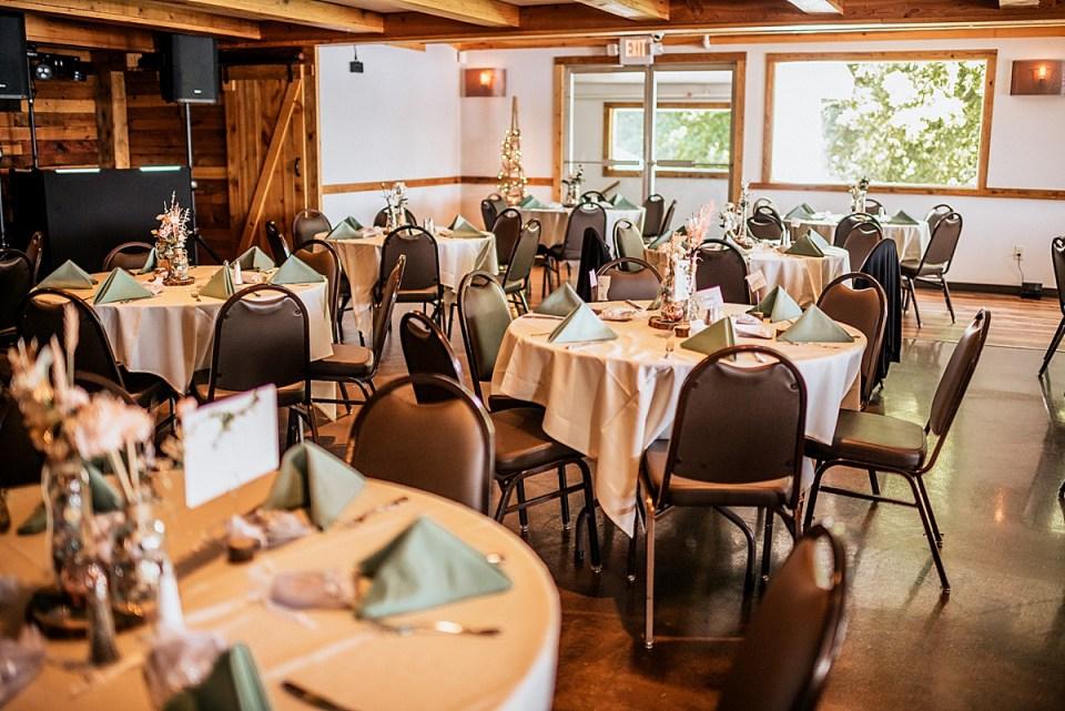 indoor wedding reception aud mar banquets