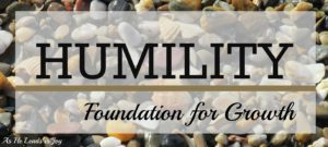 Humility Disciplines for Growth