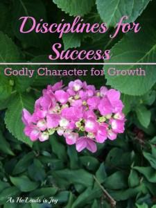 Faith Discipline for Success