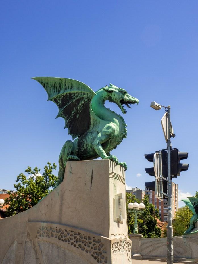 Dragon in Ljubljana, Slovenia