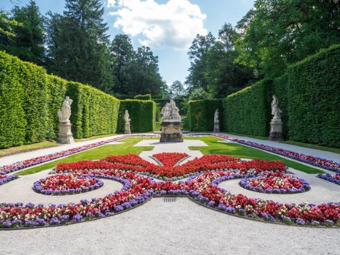 Linderhof Castle Gardens