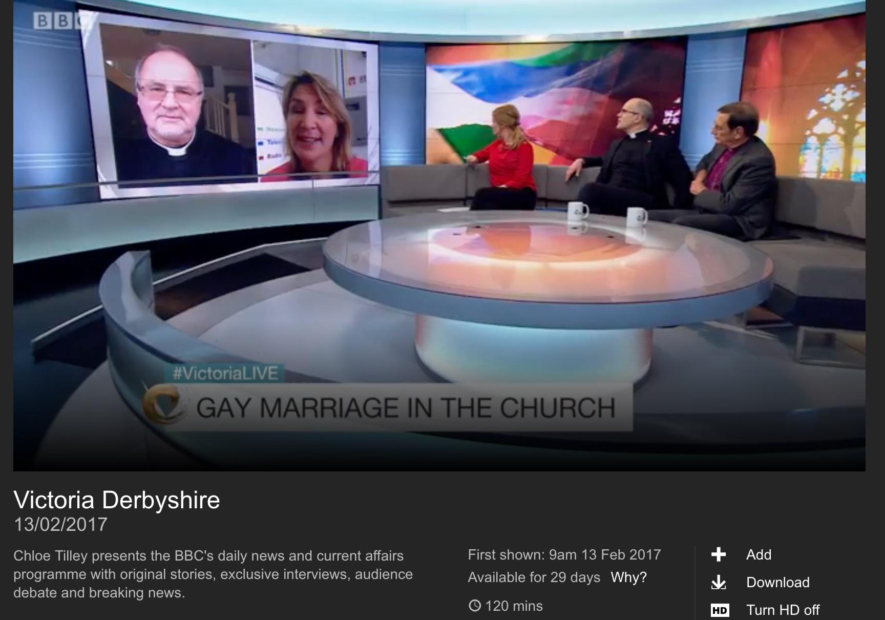 Bbc homosexual marriage video