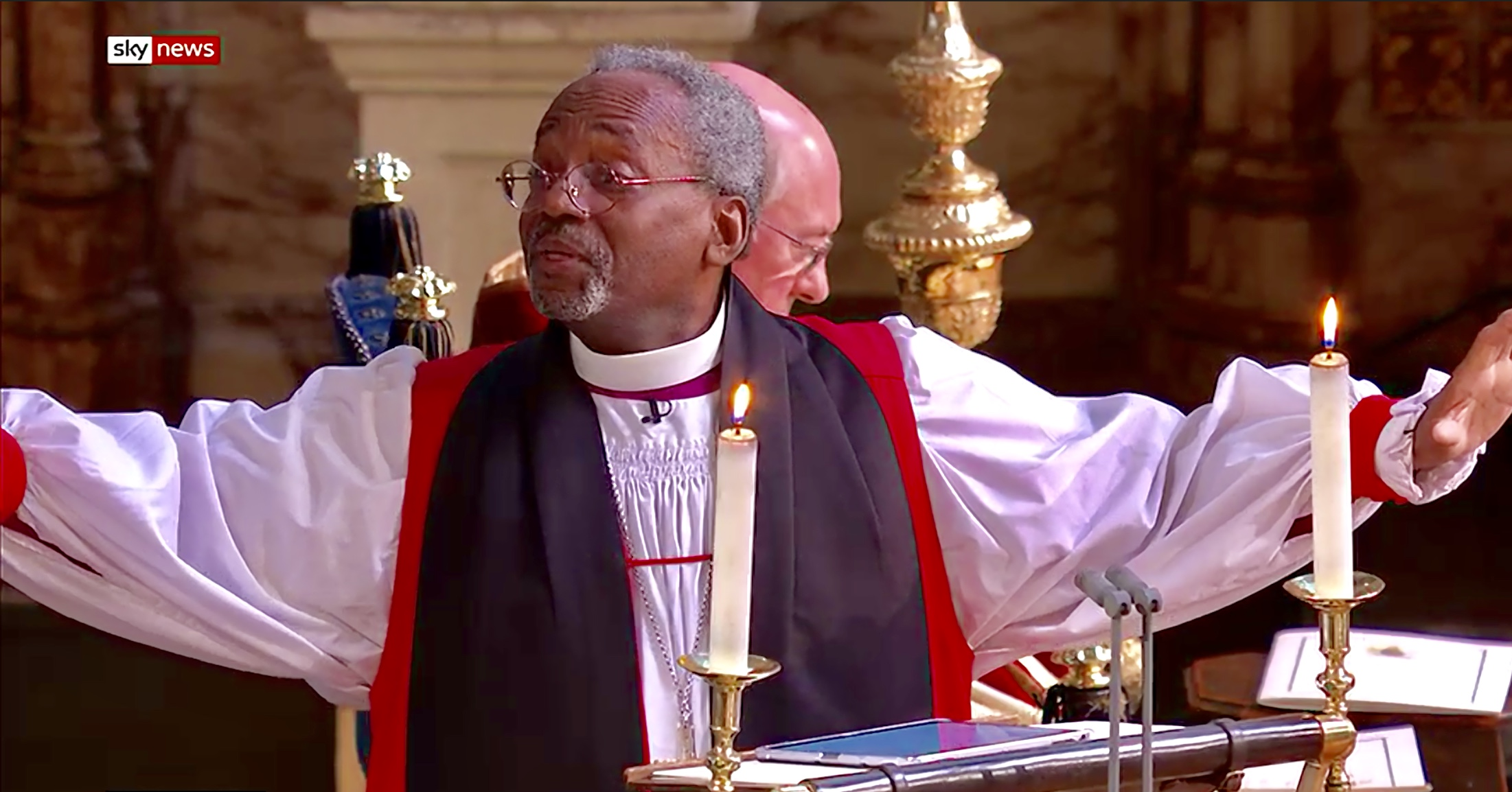 Michael Curry The Royal Wedding A Star Turn Offers The World