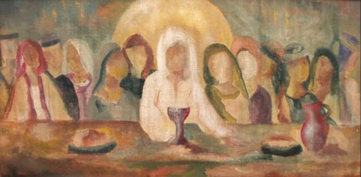 Jesus discourse upper room