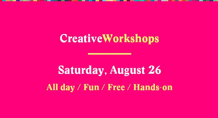Creative Mornings Workshops Aug. 26, 2017