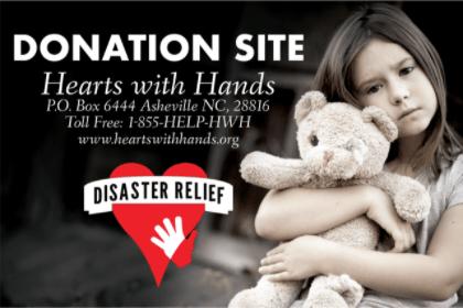 Jennings Builders Supply Bucket Brigade for Hurricane Harvey
