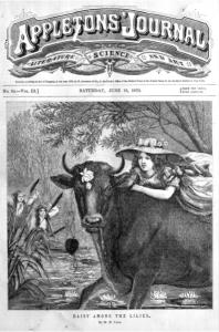 First issue of Appleton's Journal, June 18, 1870
