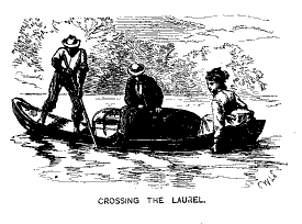 Crossing rivers at flood stage