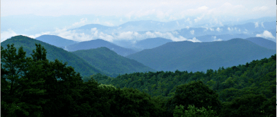East to South: The Blue Ridge. Wikipedia.