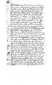 John Gray Blount deed for 577,920 acres in Buncombe County, December 31, 1796. Buncombe County Register of Deeds