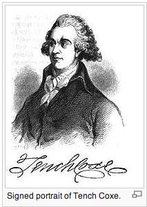 Tench Coxe, 1755-1824. Wikipedia.