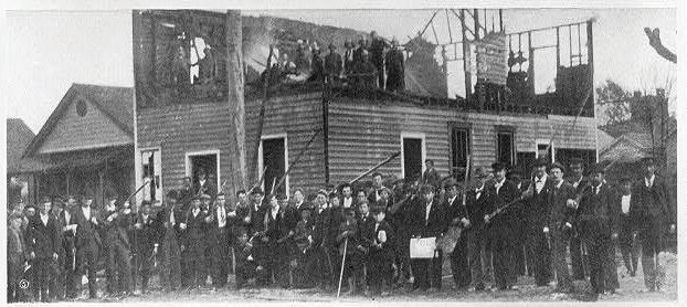 Remains of Wilmington Daily Record, November 10, 1898