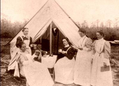 Civil War volunteer nurses. North Carolina Nurses: A Century of Caring.