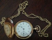 Waltham nurse's watch, ca. 1895. Courtesy of Jean Johnson