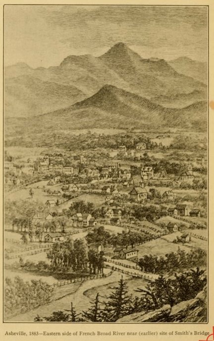 Foster A. Sondley, Asheville and Buncombe County (1883). Internet Archive.