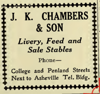 Asheville City Directory, 1908, p. 361