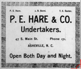Asheville Register, January 10, 1903