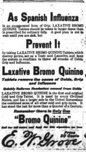 Asheville Citizen -Times, October 11, 1918