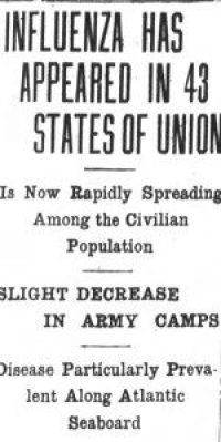 Asheville Citizen-Times, October 3, 1918