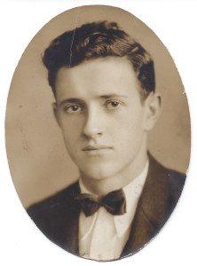 John Keenan Whisnant, Asheville High School annual photograph, 1931.