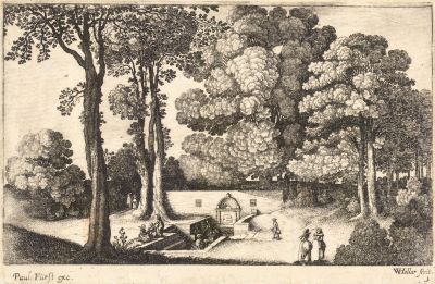 The Mineral Spring, Central Europe, ca. 1650. Wenceslas Hollar. University of Toronto Wenceslaus Hollar Digital Collection, via Wikipedia