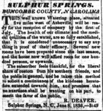 The Carolina Watchman, July 16, 1836. Newspapers.com