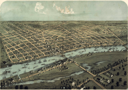 Bay City, 1867, downriver end
