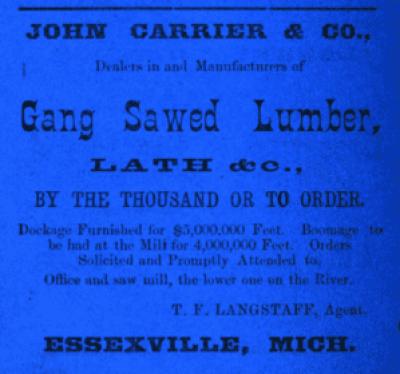 City Directory, Bay City, Michigan, 1871-1872
