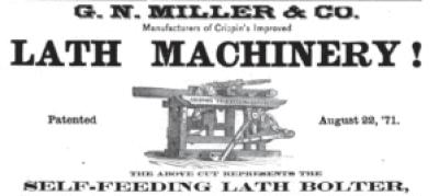 Lumberman's Gazette, July 1872.