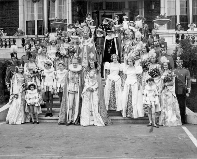 Rhododendron Festival Court (1940)