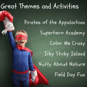 camp themes