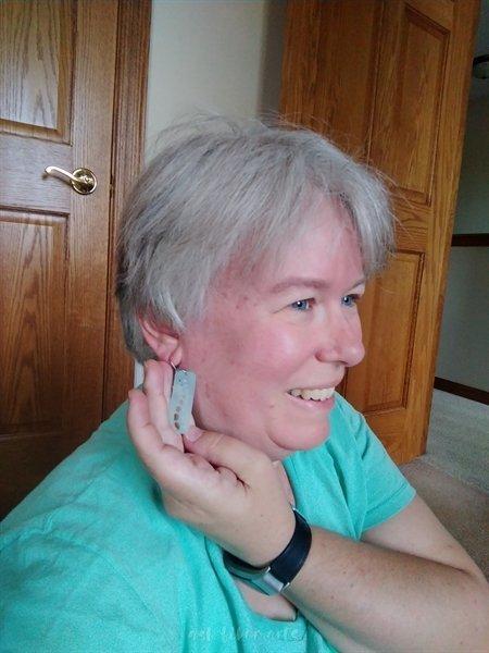 Driftless shop hop - gauge earrings