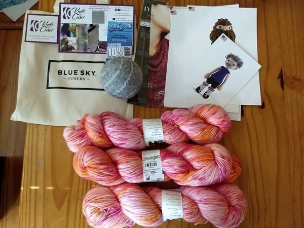 Driftless shop hop - yarnology purchase 2019 - yarn stash acquisition
