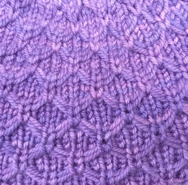 Abigail Hat closeup- ASHFiberArts