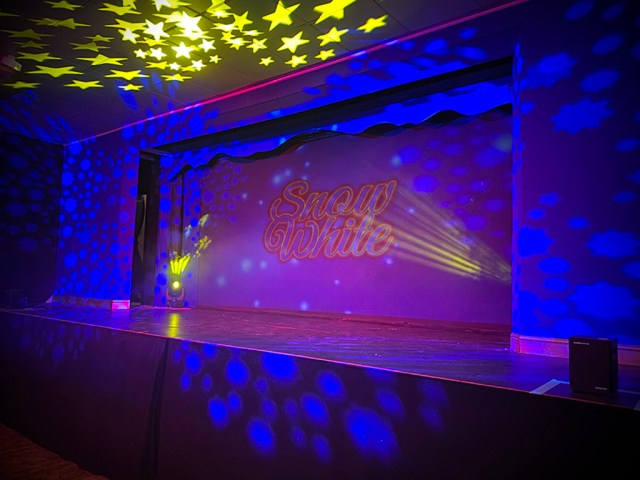 Ashford Theatre Stage Set For Pantomime