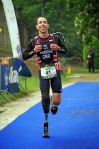 ADRIAN HEATHFIELD - Team GB Paratiathlete
