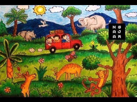 400 Gambar Gajah Untuk Mewarna HD Terbaru