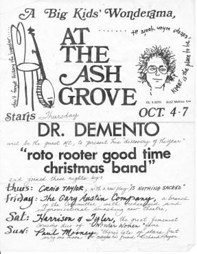 Ash Grove Flyer