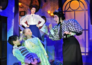 """Ashley plays Miss Andrew in Sierra Repertory Theater's """"Mary Poppins"""""""