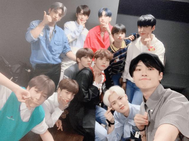 2019.08.30ファンサイン会のX1メンバー全員画像